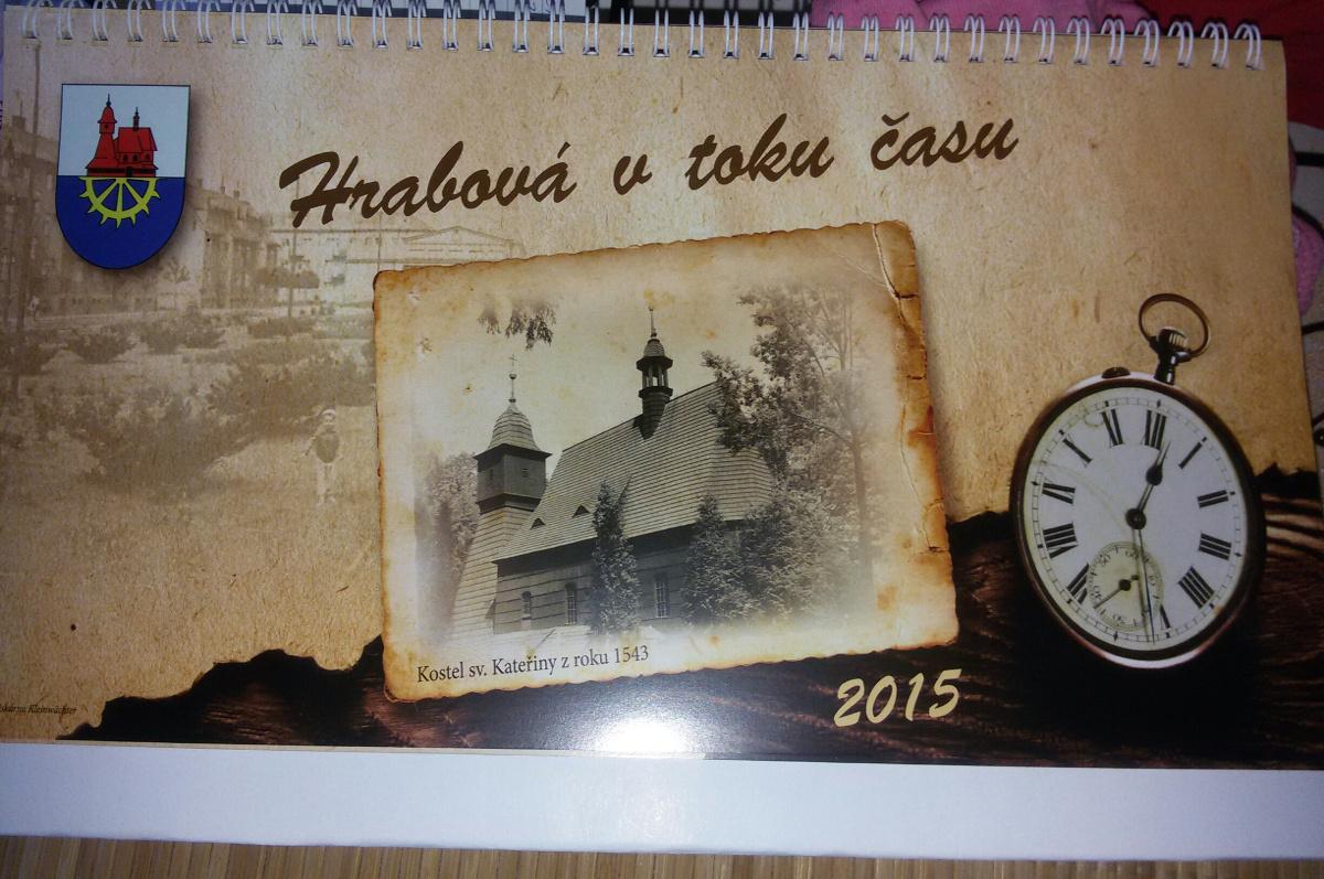 Kalendář 2015 – Hrabová na pohlednicích
