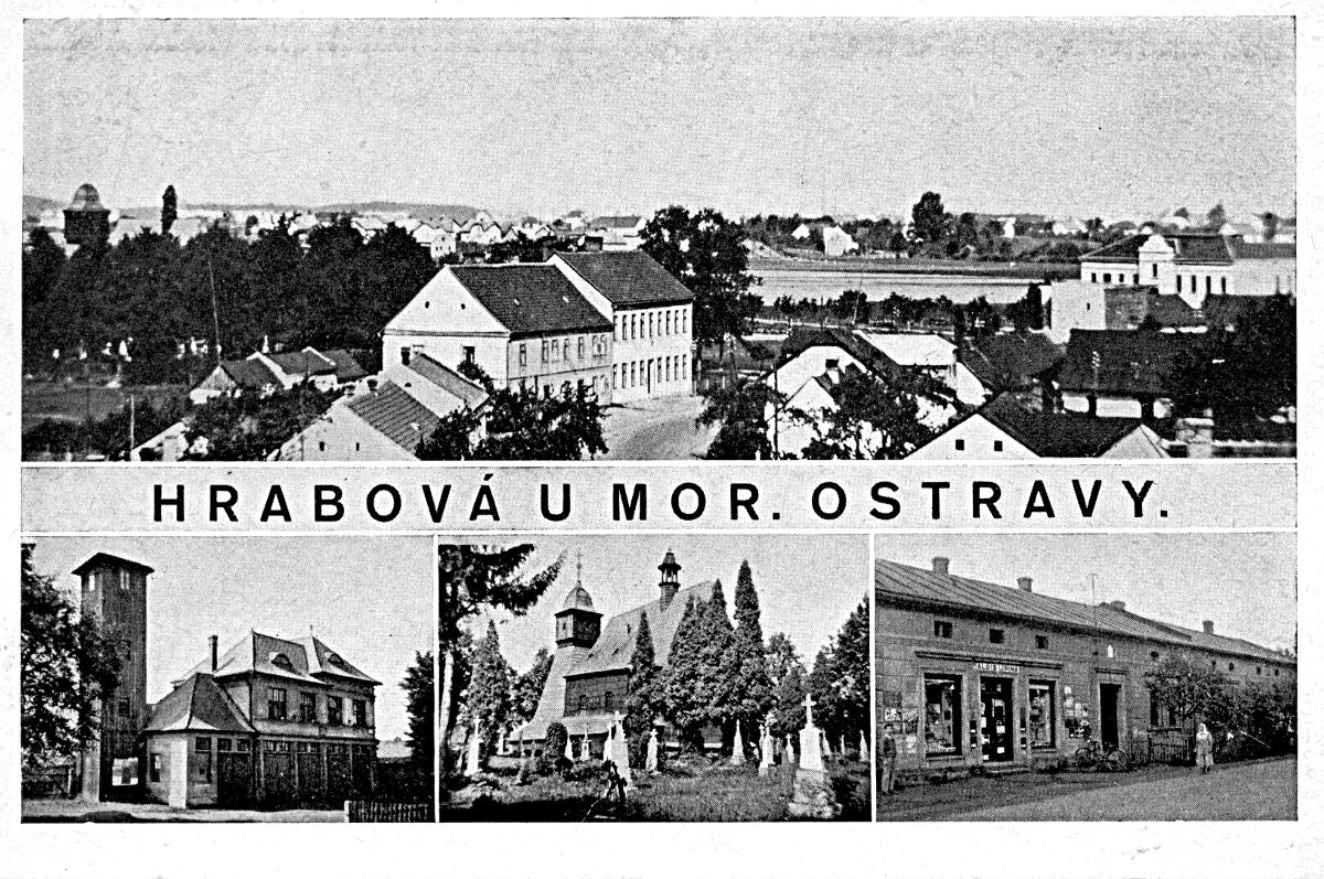 První světová válka aprvní poválečná léta vživotě obce Hrabová [9]