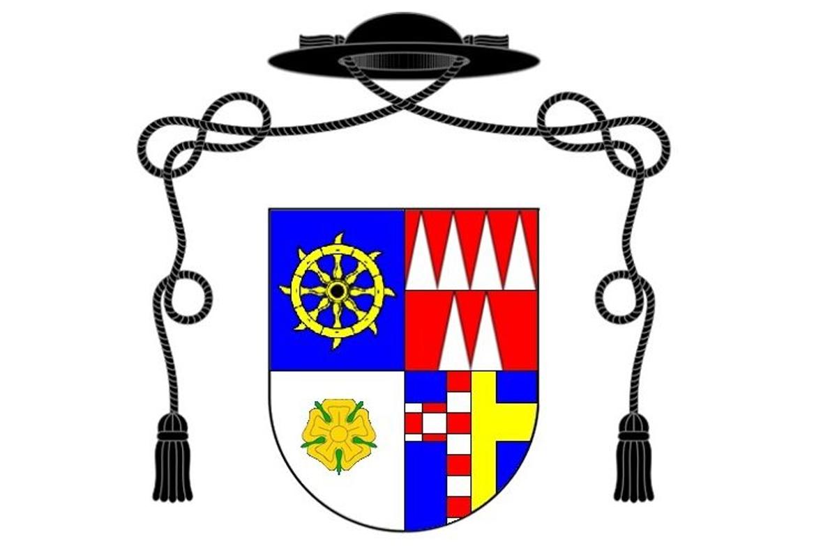 Erb Římskokatolické farnosti Ostrava-Hrabová