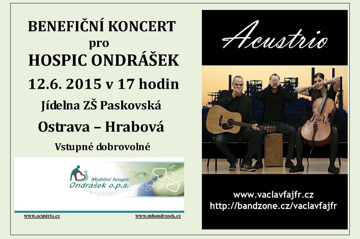 Benefiční koncert pro Mobilní Hospic Ondrášek