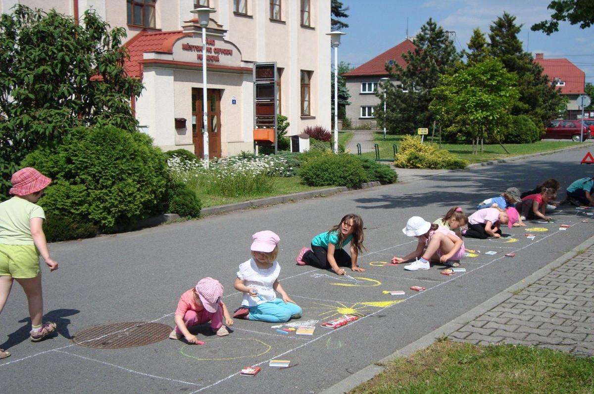 Den dětí na hřišti TJ Sokol Hrabová