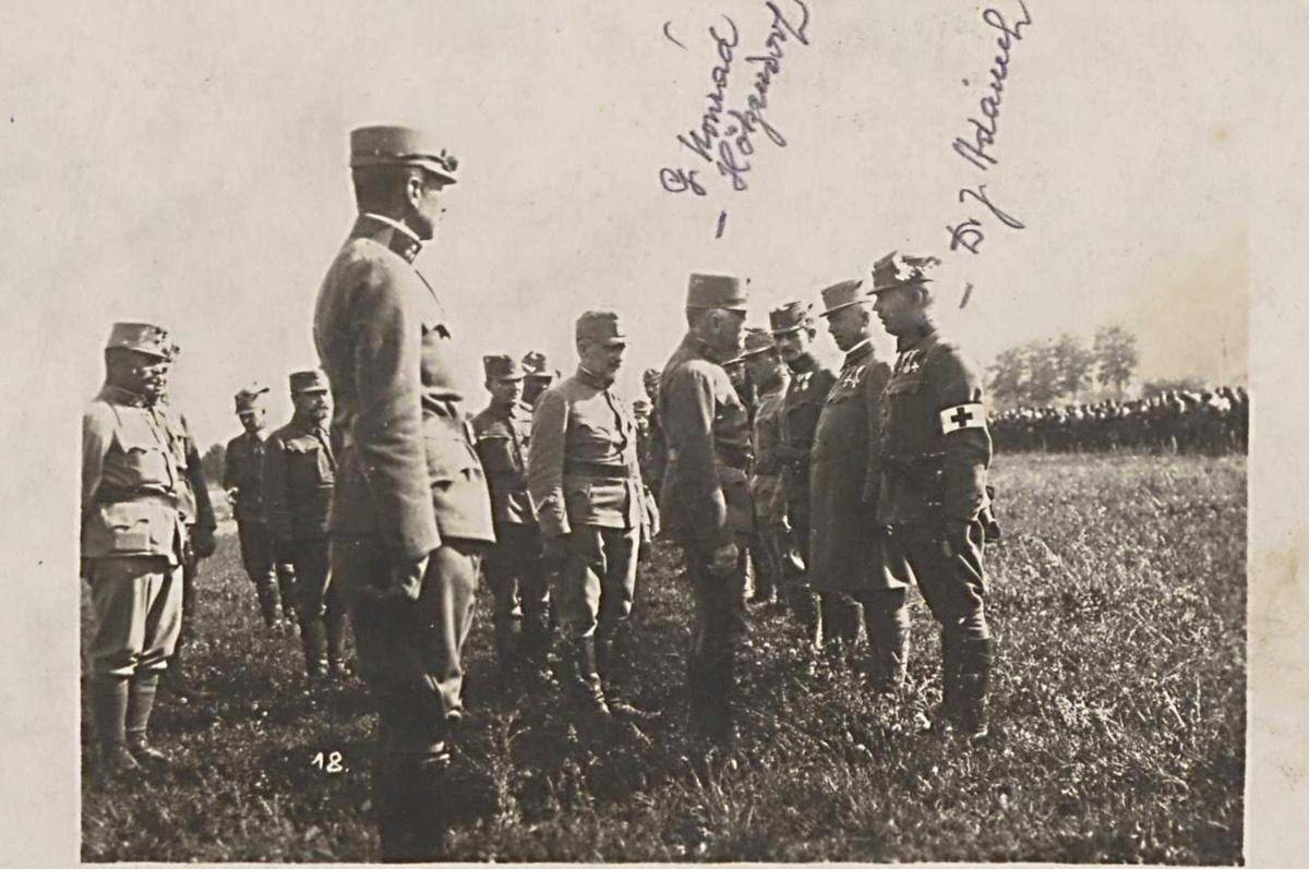 Hrabovští vojáci vprvní světové válce