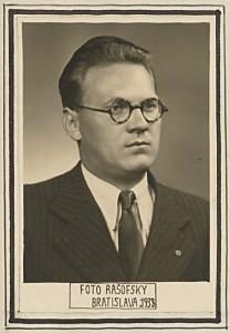 Jaroslav Jurák v r. 1933 [str. 203 – 216]
