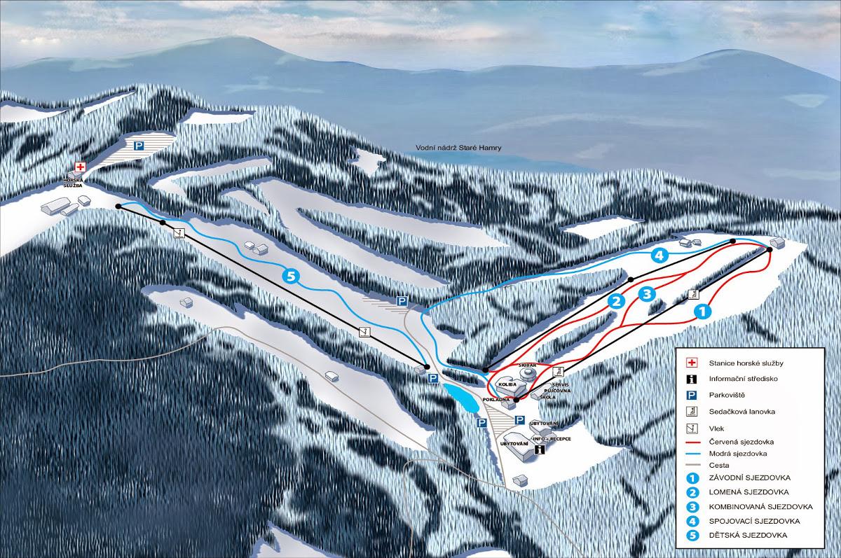 Zájezd na lyže do SKI PARKU GRUŇ