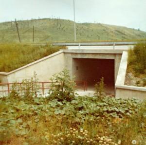 Podchod v roce 1977