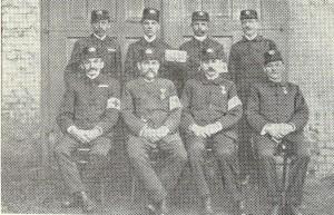 Členové výboru požárního sboru v roce 1917