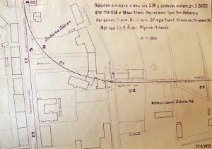 Zákres nehody ze 17. srpna 1935. Foto: Archiv Vítkovice, a. s.