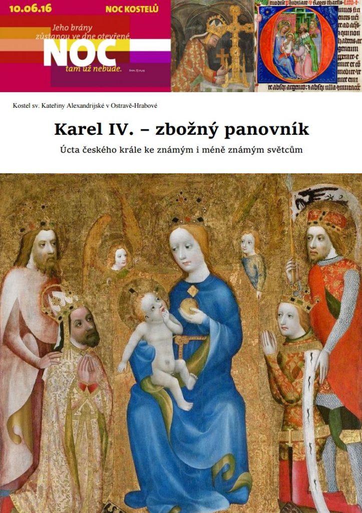Karel IV. - zbožný panovník