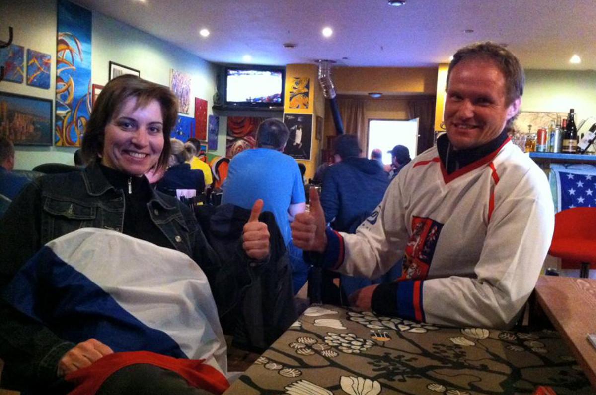 Fotosbírka: Fandíme hokeji!