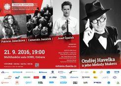 Charita Ostrava: koncert Ondřeje Havelky