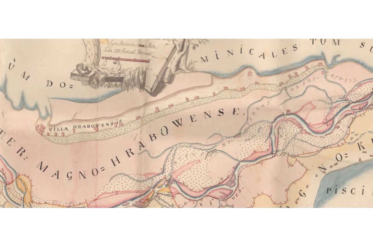 Nejstarší dosud neznámá mapa Hrabové (1756)