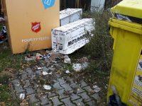 Nasbíraný odpad ještě není plně uklizen