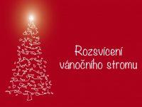 Rozsvícení vánočního stromku vHrabové – 27.11.2016