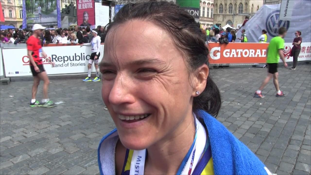 Petra Pastorová vybojovala mistrovský titul na maratonské trati