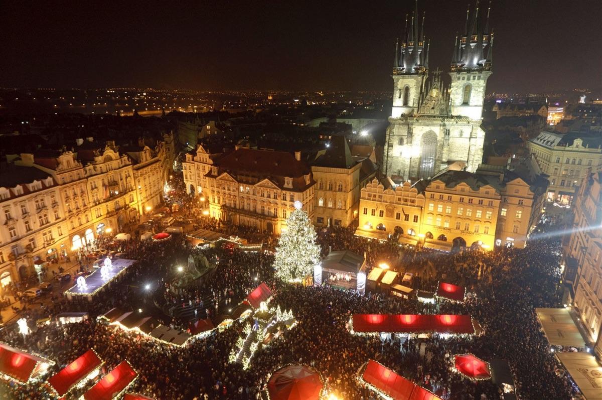 Kapacita vánočního zájezdu do Prahy je naplněna