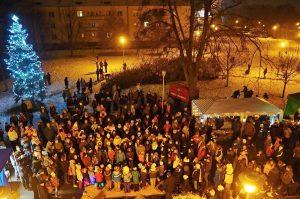 Rozsvícení vánočního stromu | Ilona a Libor Hromádkovi