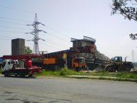 Likvidace železniční vlečky, 31.8.2008