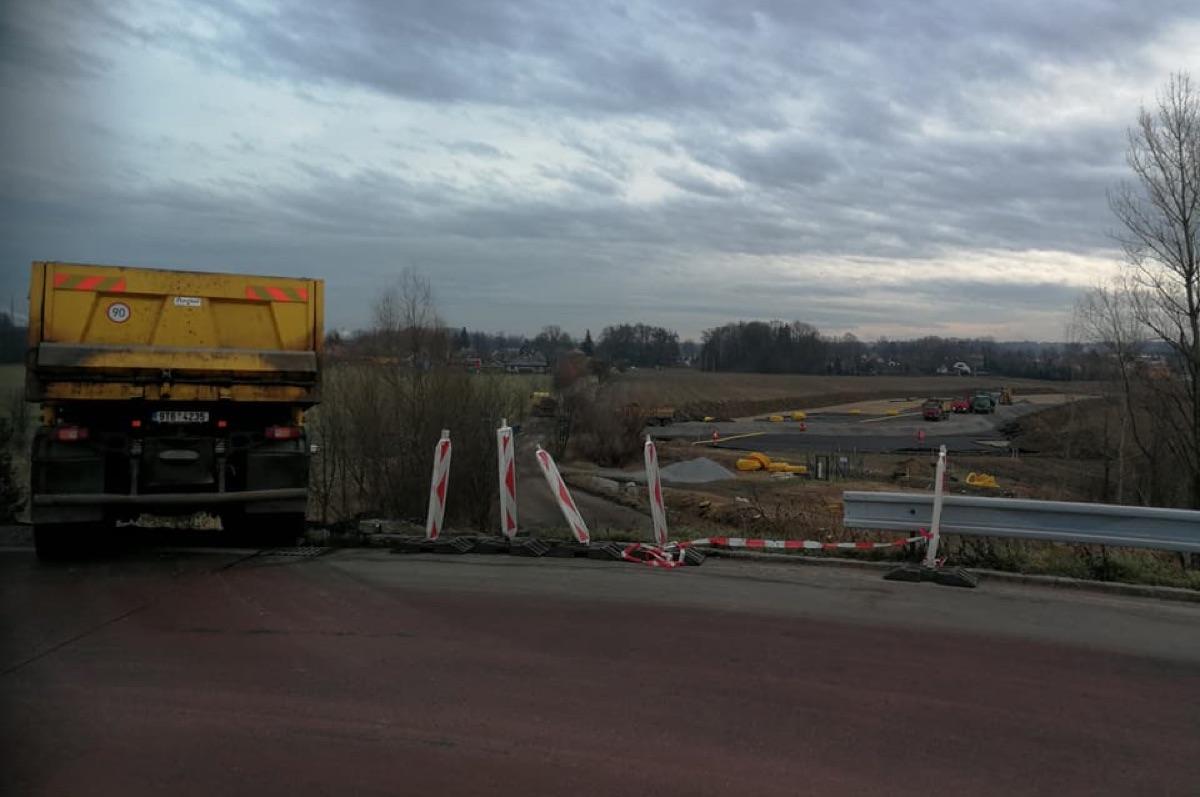 Práce na prodloužené Mostní pokračují