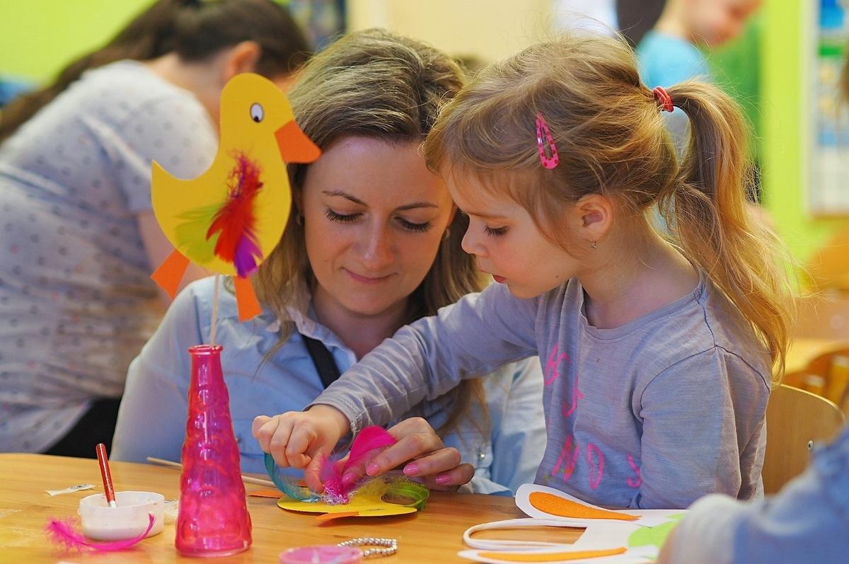Společná velikonoční dílnička pro rodiče a děti
