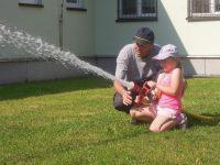 Školka děkuje našim dobrovolným hasičům