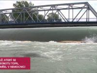 (VIDEO) Nebezpečný jez mezi Ostravou-Hrabovou aVratimovem