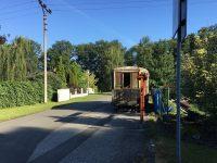 Historická tramvaj někomu překáží ve výhledu