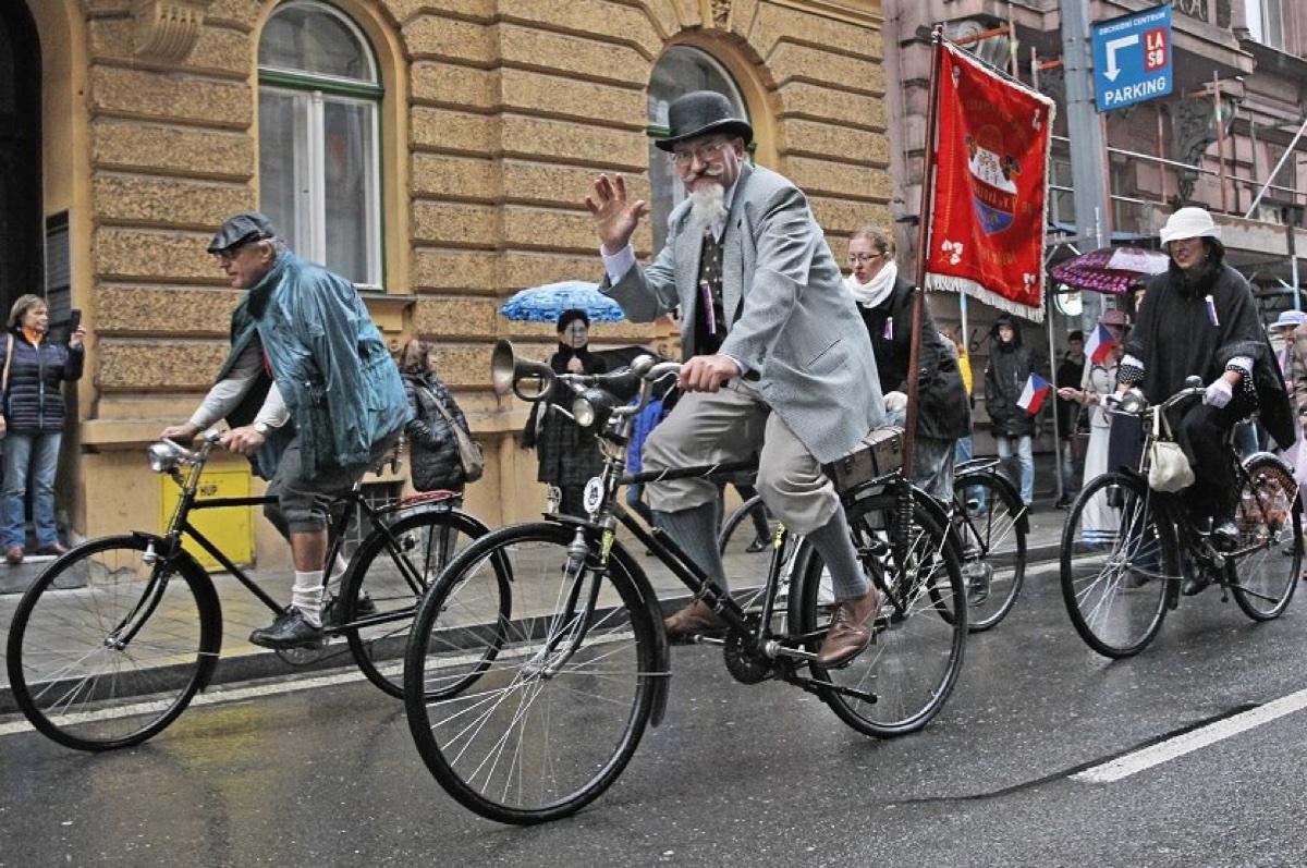 Sraz velocipedistů po110 letech – 11.5.2019
