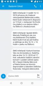 SMS InfoKanál