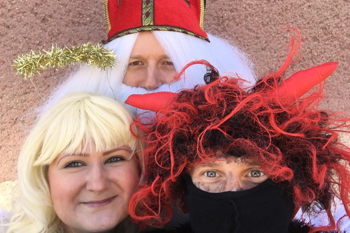 Poděkování ředitelky školky za Vánoční cinkání