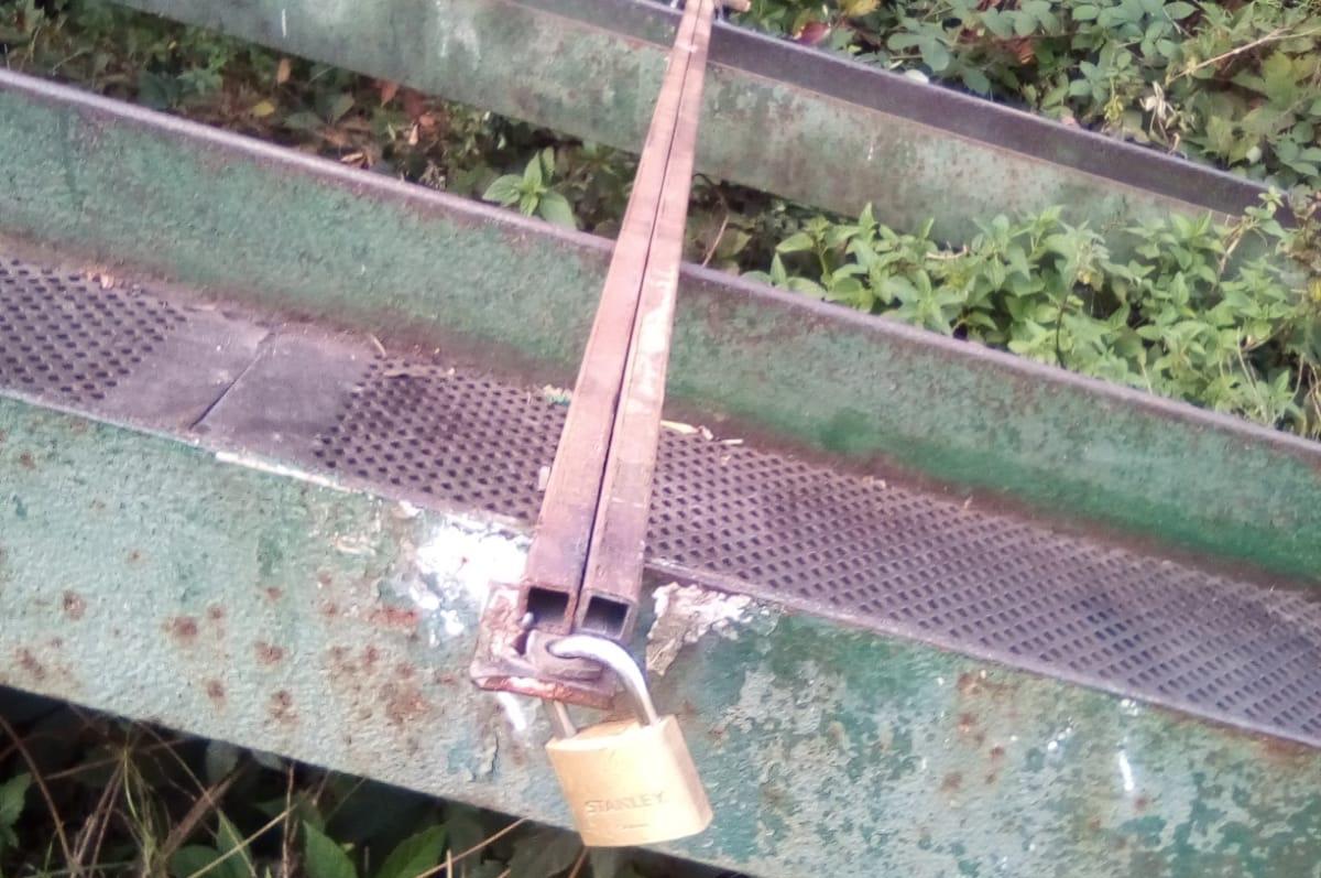 Žádost oodstranění rampy na ulici Šídlovecká