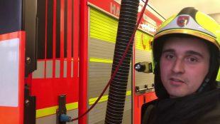 (VIDEO) Pozvánka do Dolní oblasti Vítkovic vpodání našeho hasiče
