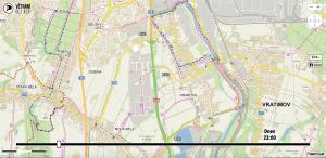 Mapa před zohledněním mé žádosti