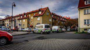 Policie zasahuje na Šídlovci