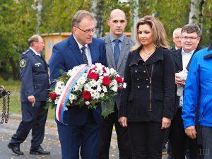 Ivana Bollogová při oslavách 100 let republiky, foto: Ilona a Libor Hromádkovi