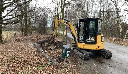 (FOTO) Odstranění betonových fragmentů