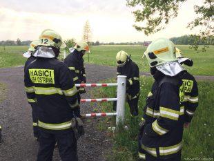 (FOTO) Naši dobrovolní hasiči zkoušeli agregátory