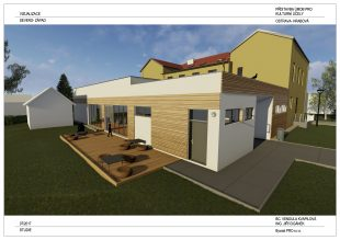 Aktuálně: Přístavba ÚMOb Ostrava-Hrabová pro kulturní účely