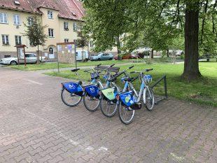 (FOTO) Sdílená kola dorazila do Ostravy-Hrabové