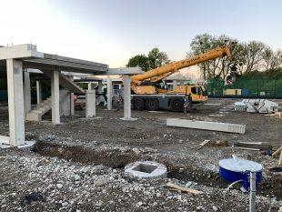 (FOTO) Jak roste Víceúčelová budova ULípy