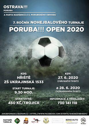 Pozvánka hrabovanům: Poruba Open letos slibuje mimořádnou kvalitu (27.-28.6.2020)