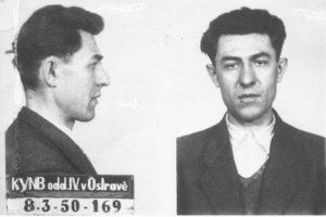 Jan Buchal popraven na Pankráci 27. 6. 1950. Foto: AMO