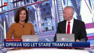 (VIDEO) CNN Prima News: Oprava 100 let staré tramvaje