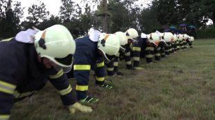 (VIDEO) Gaszyn challenge: SDH Ostrava-Hrabová přijala výzvu apředala ji dále