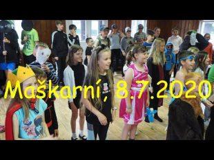 (VIDEO) Maškarní karneval na táboře spolku TORALI