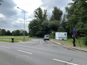 Policie se zaměřila na projíždějící nákladní auta