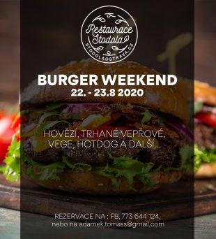 Burger weekend vrestauraci Stodola – 22.-23.8.2020