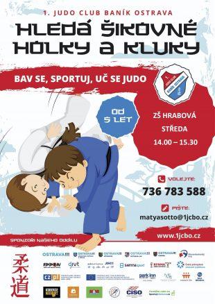 Kroužek vZŠ Hrabová: Judo club Baník Ostrava