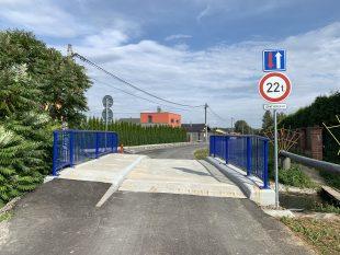 (FOTO) Mostek na ulici Na Hurtě byl konečně otevřen