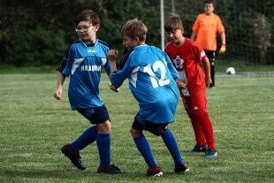 (FOTO) Fotbalový trénink žáčků