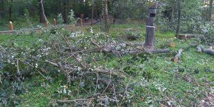 (FOTO) Zelená Hrabová: Větrná spoušť vHrabovjance